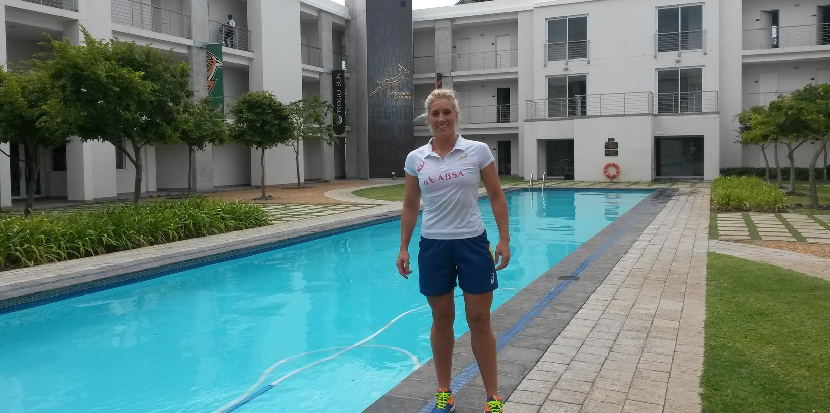 Netball ace Barnard packs down for Lady Blitzboks