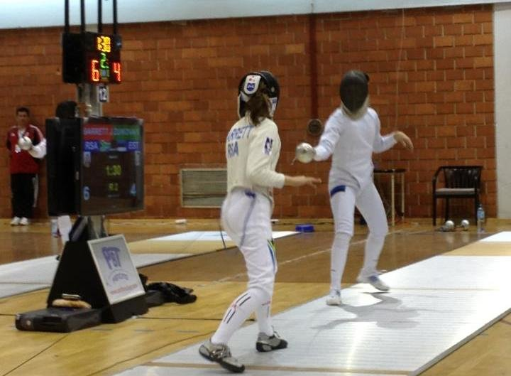 Finest fencers out to make their point at World Cup in Gauteng