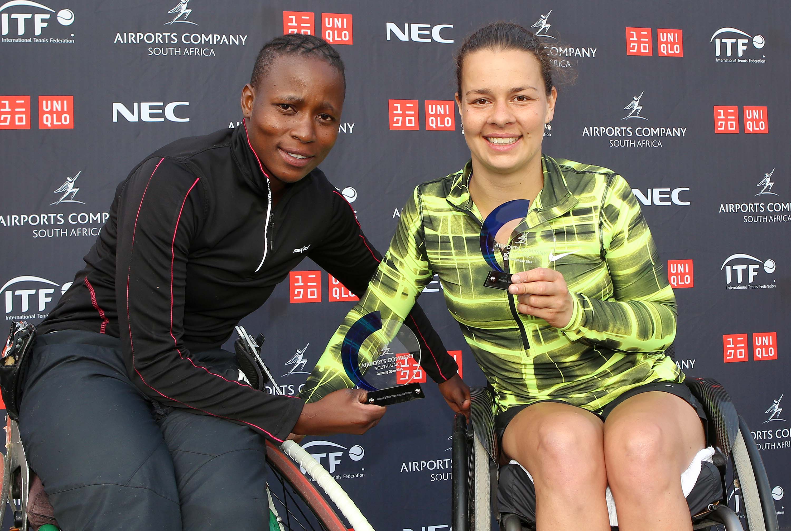 Montjane, Sithole downed in singles but KG still wins a trophy