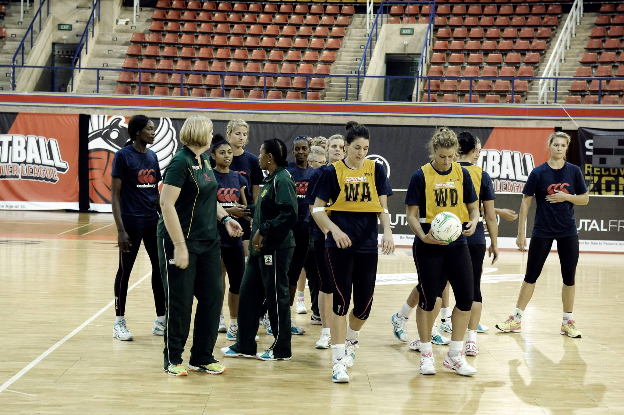 Victory and defeat for Protea netballers in Europe