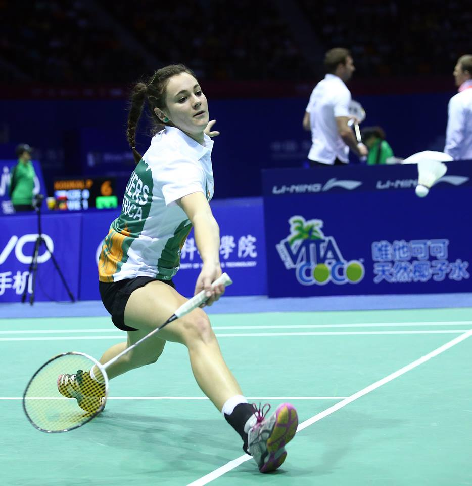 World-best badminton ranking for SA badminton