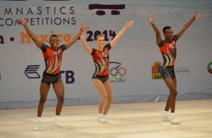 Aerobic WCh 2014 Cancun/MEX: trio RSA