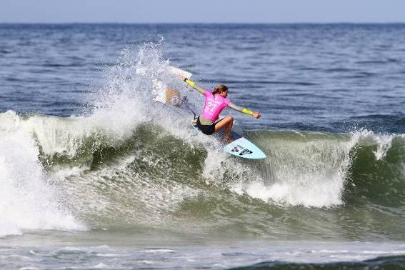 Buitendag barrels to second spot in Brazil