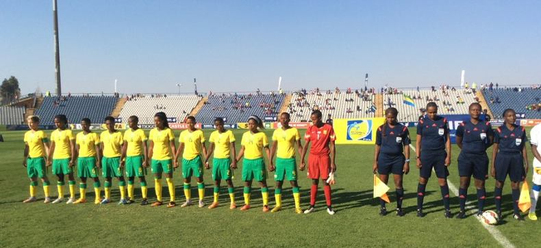 High fives as Banyana win Olympic qualifier against Gabon