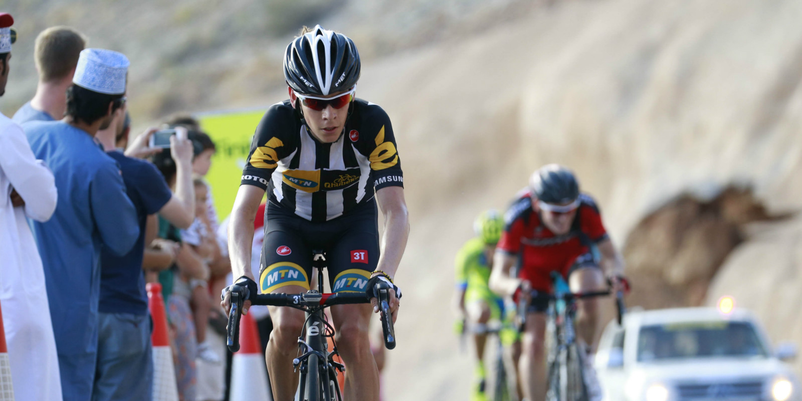 Meintjes still best of SA trio after stage 2