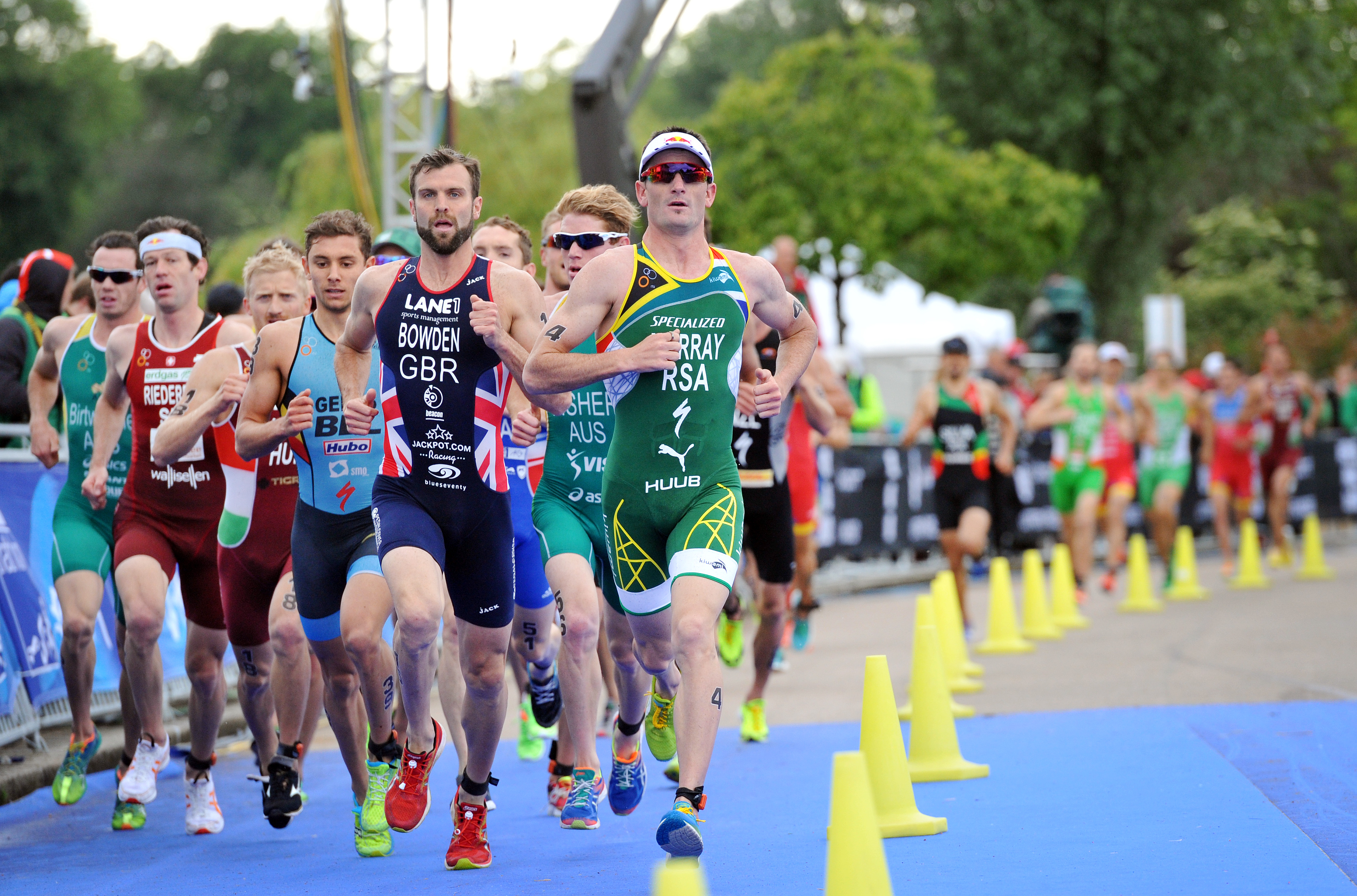 SA shines at London triathlon event with two men in top 10
