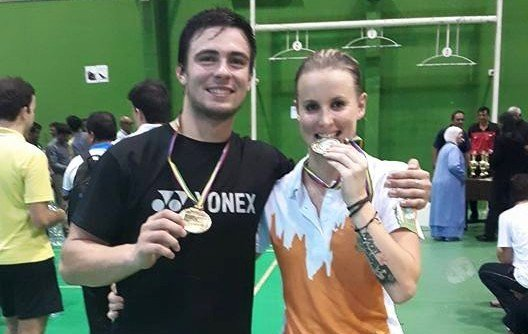 Badminton team bring back gold and silver medals