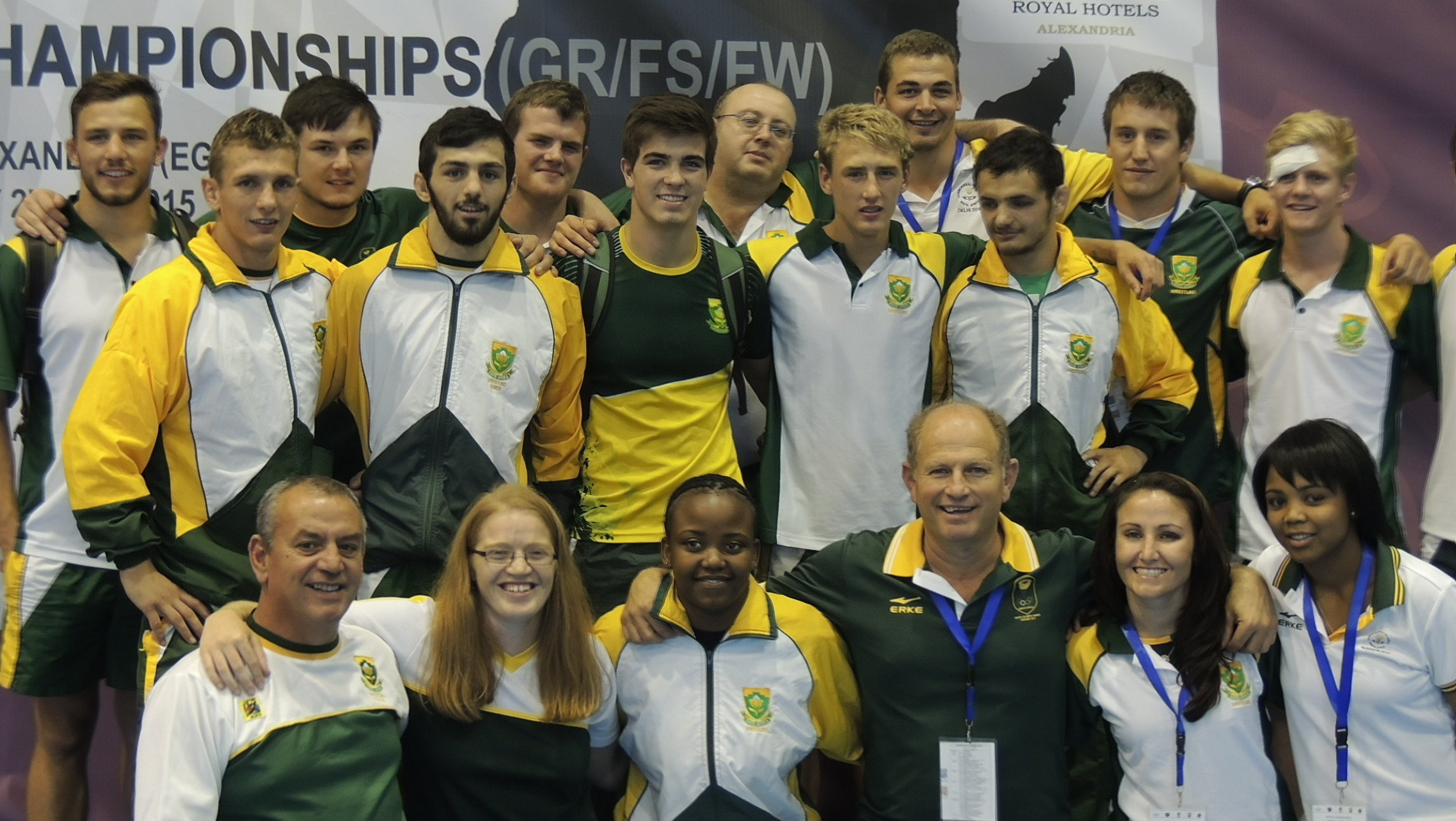 Three gold… and many more medals for SA in Egypt