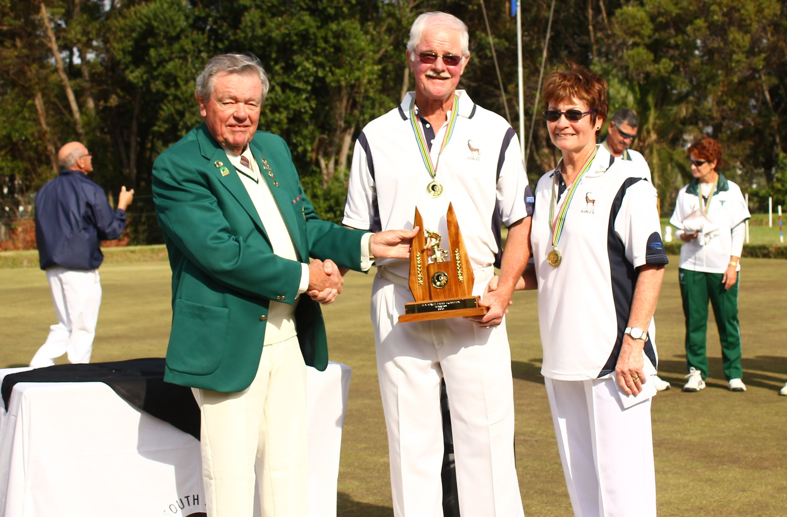 Marnewicks make merry to take SA mixed title