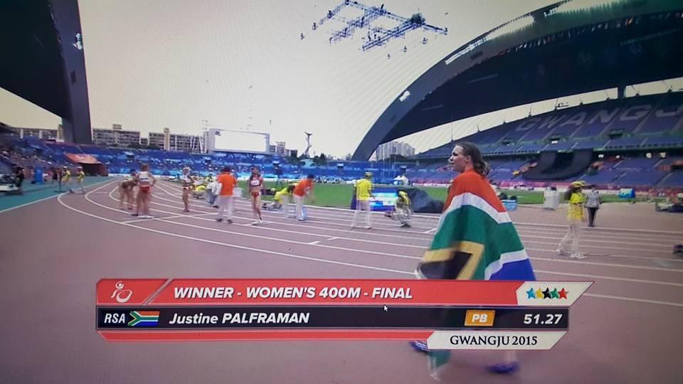 Palframan grabs SA's second gold at World Student Games