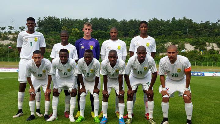 SA footballers beat Ukraine at World Student Games