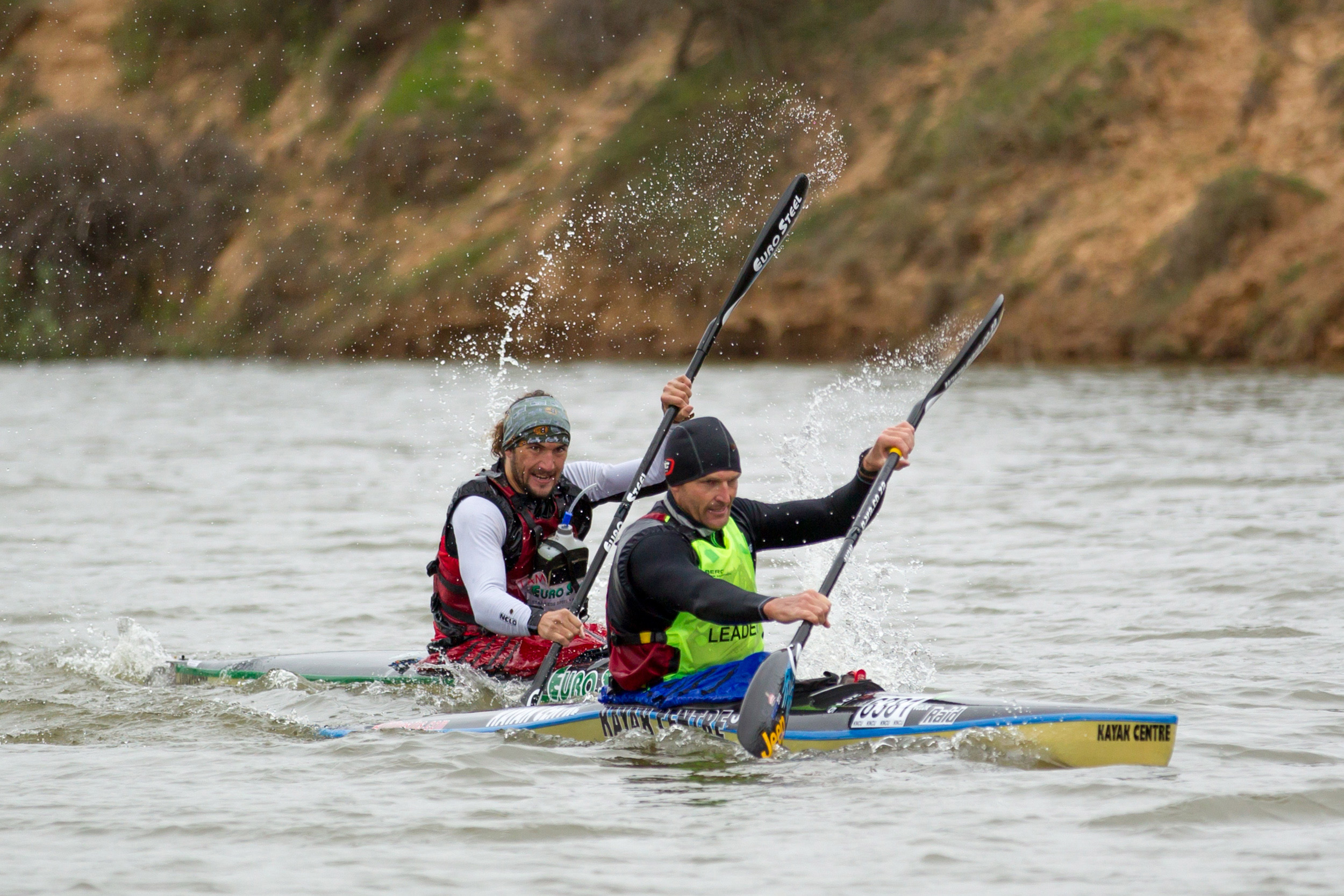 McGregor and Beavitt brave chilly Berg conditions