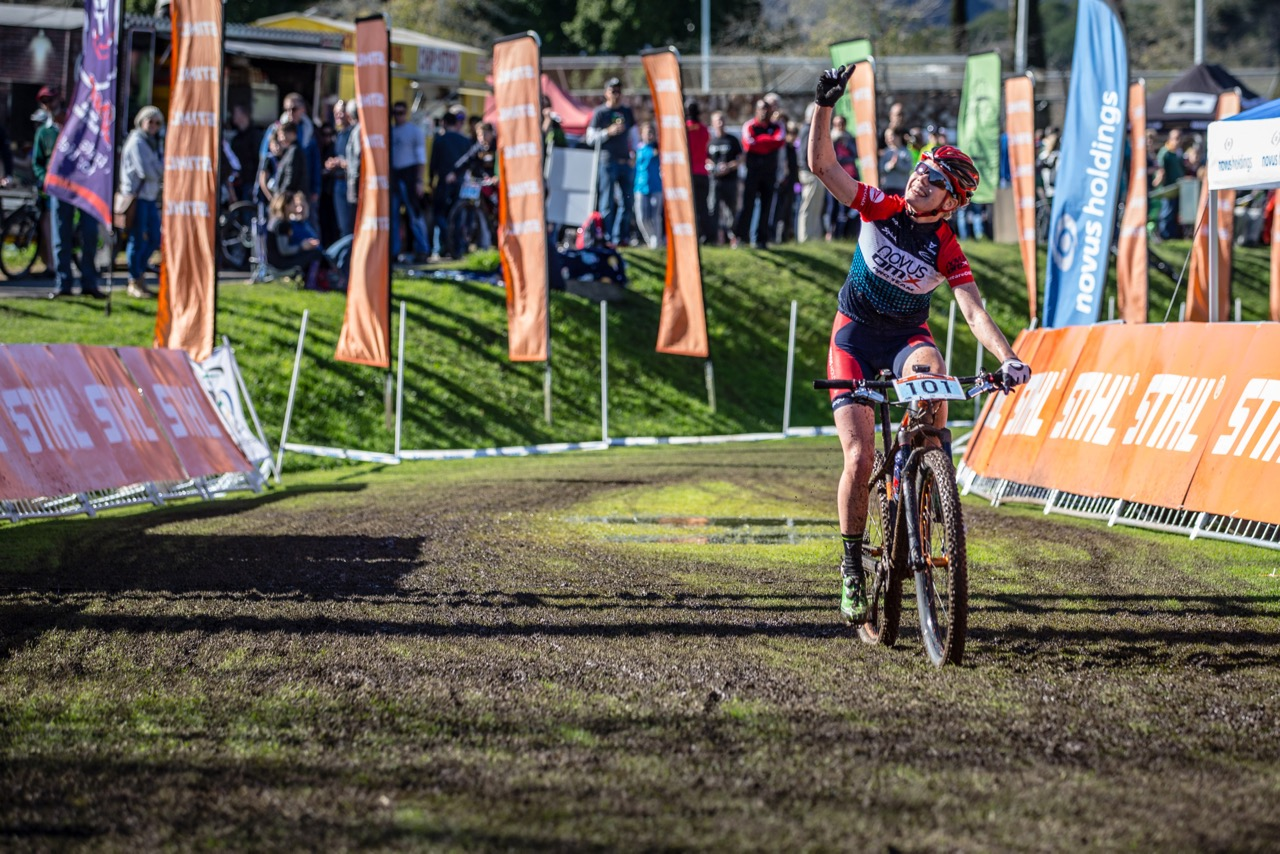 Reid and Vale pedal to the top of the SA MTB podium