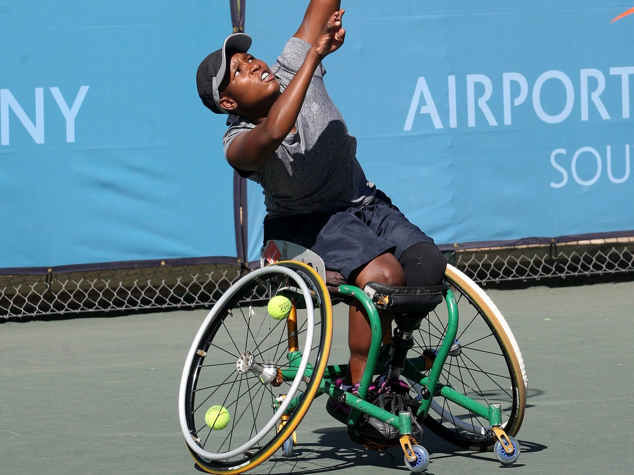 Montjane is all smiles after Swiss Open win