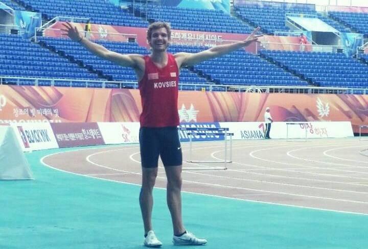 Rynardt through to 800m semis at World Student Games