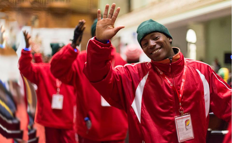 SA team in Los Angeles for 2015 Special Olympics