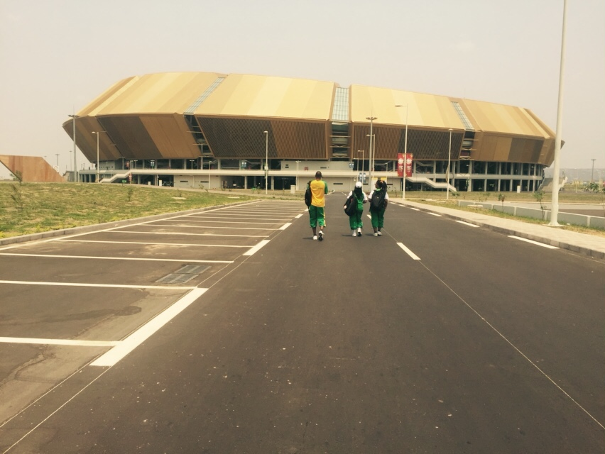 First SA sports codes arrive in Congo for African Games