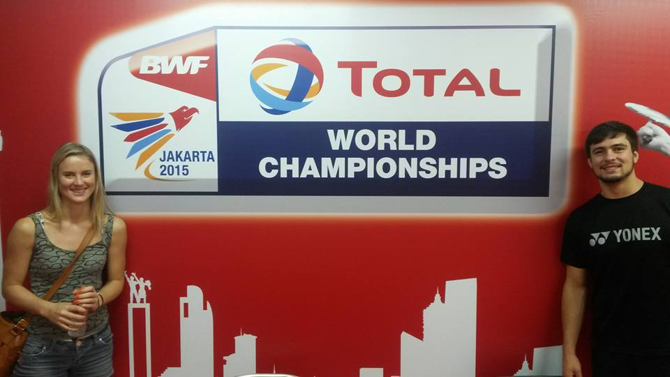 SA trio in action at badminton's World Cup