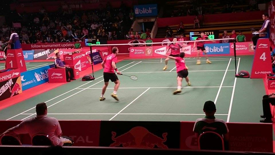 SA men's doubles bow out to top-seeded Koreans in Indonesia