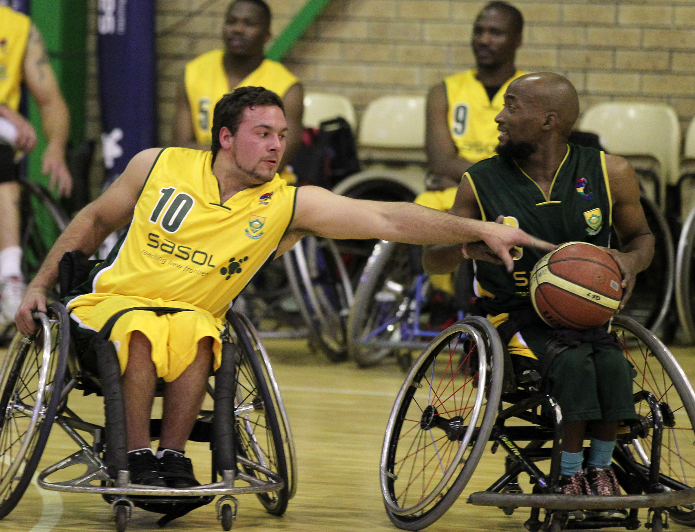 Nortje leads wheelchair basketballers to Golden win