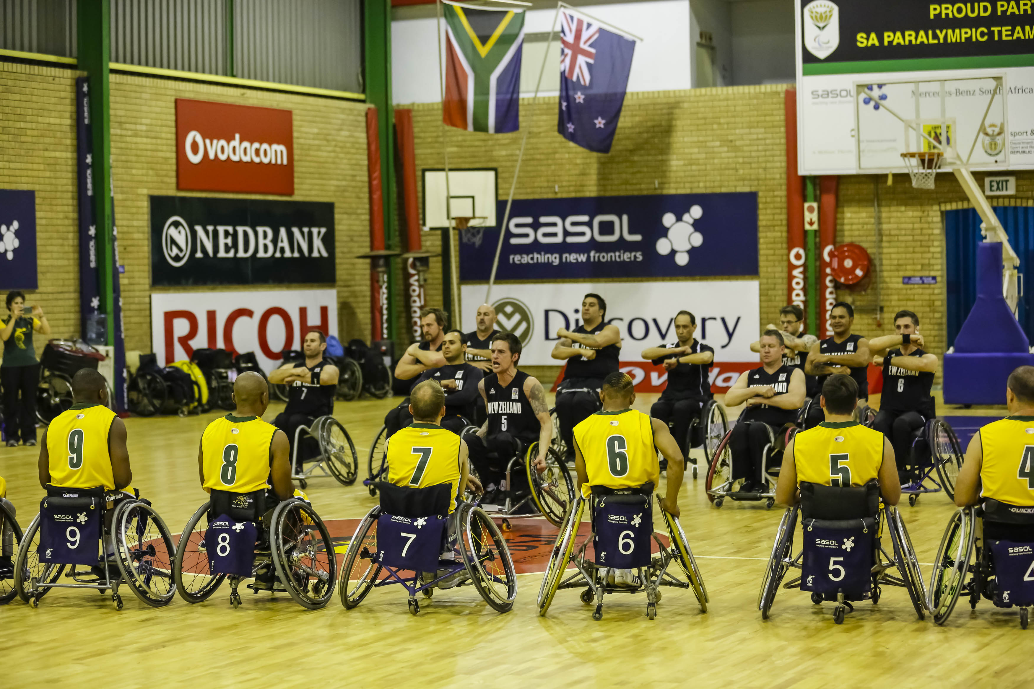 SA wheelchair basketballers bulldoze NZ Roller Blacks