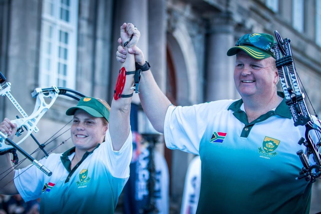 Patrick, Sera shoot their way to bronze for SA at World Championships