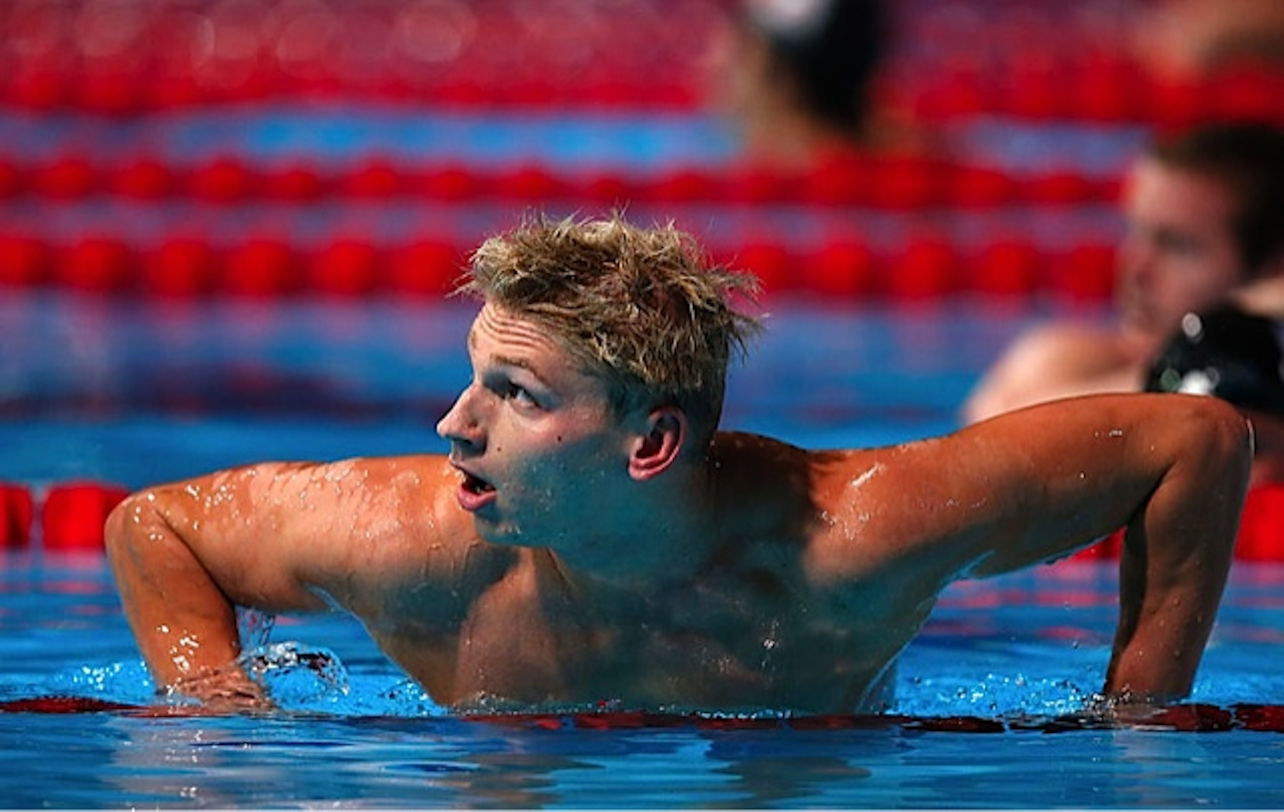 Le Clos and Brown through to 200m freestyle semis in Russia