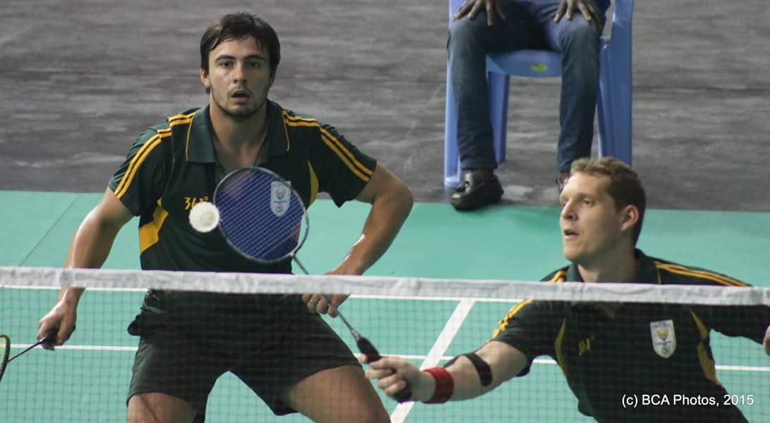 More gold for doubles aces Viljoen and Malan