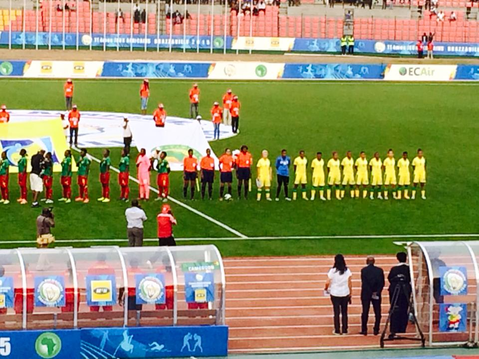 Late penalty denies Banyana Games win against Cameroon