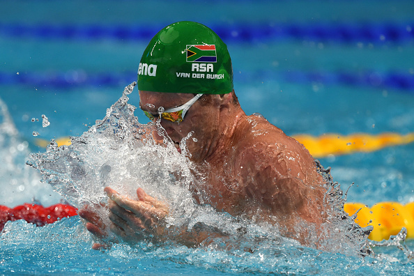 competes in the **** on day twelve of the 16th FINA World Championships at the Kazan Arena on August 5, 2015 in Kazan, Russia.