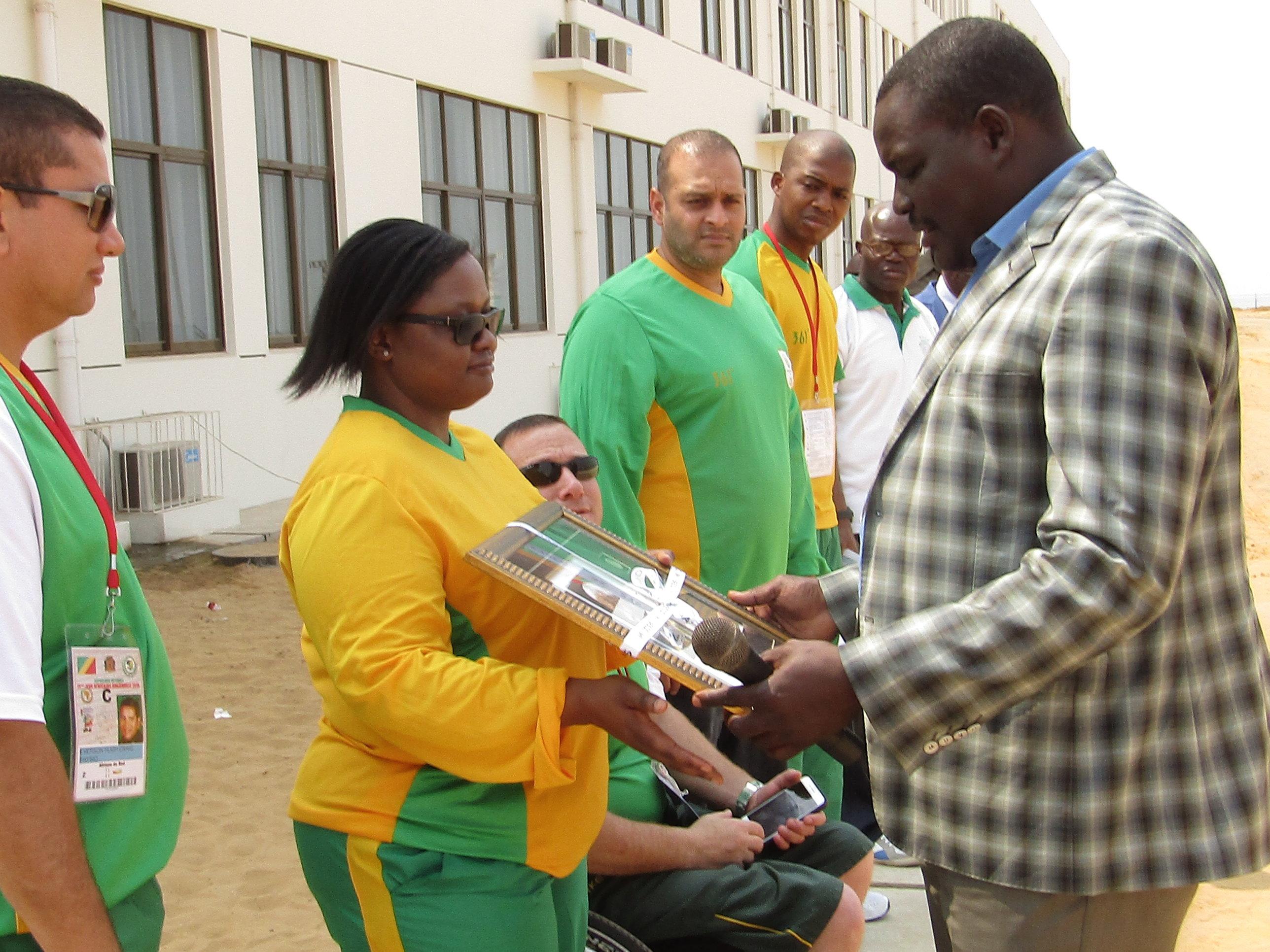 SA flag raised at 2015 African Games