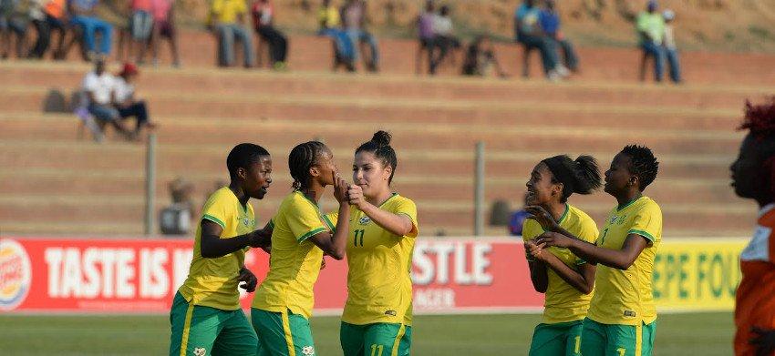 Two goals for Motlhalo put Basetsana on brink of U20 World Cup spot