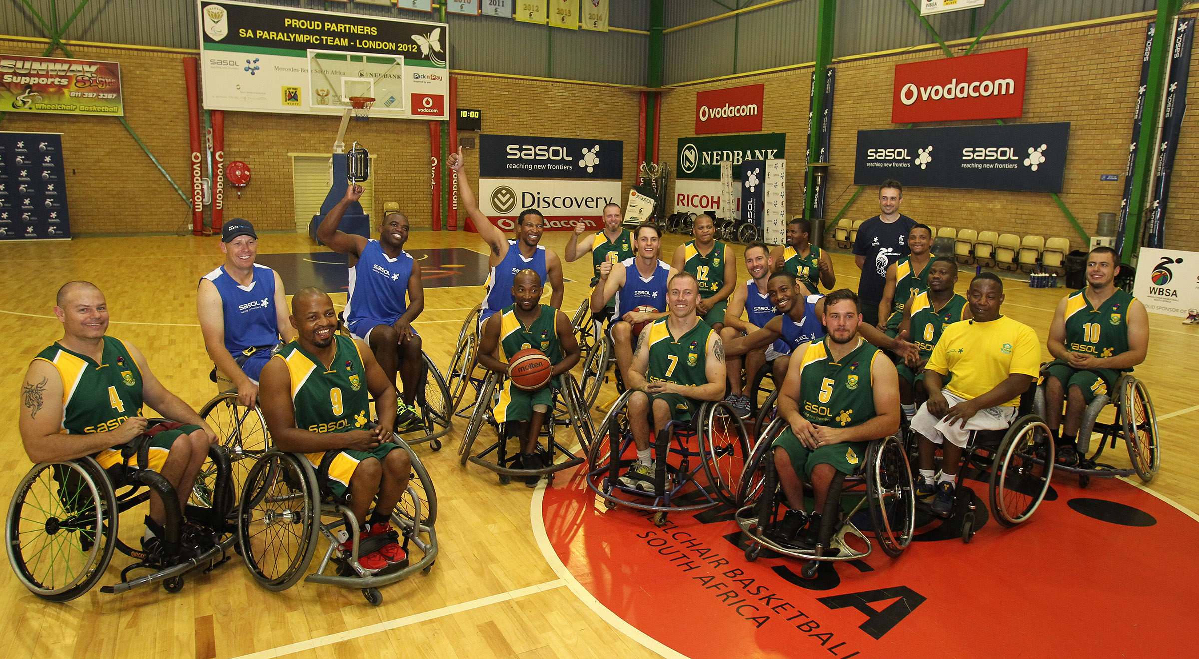 SA wheelchair aces downed by racing counterparts