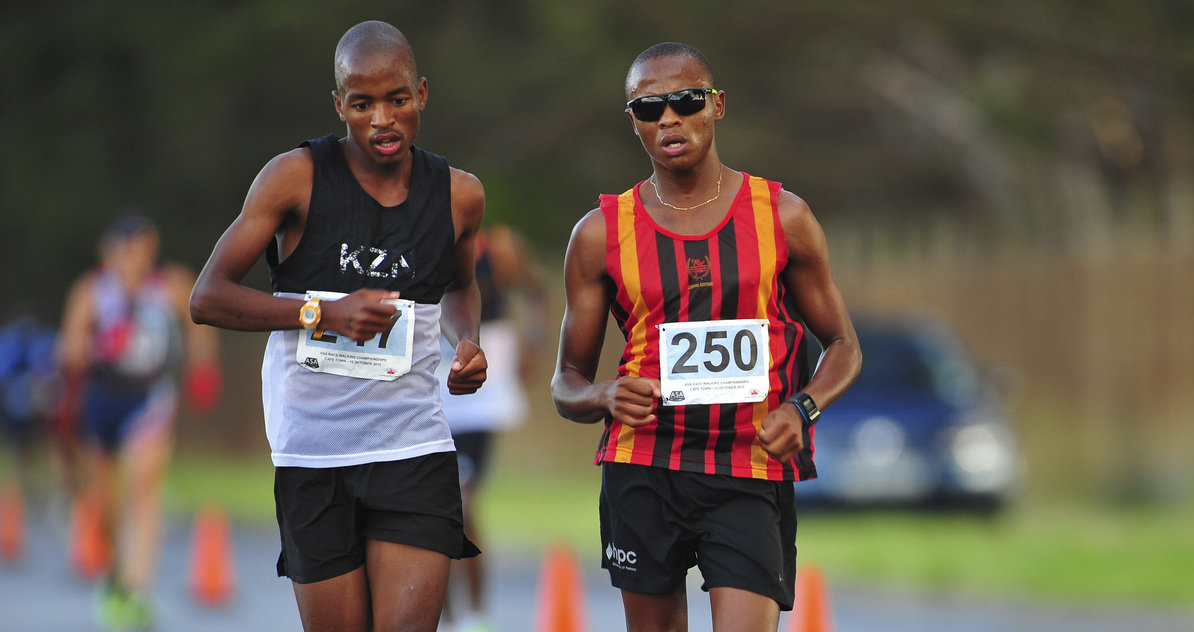 Shange and Oosthuizen stride to victory at nationals
