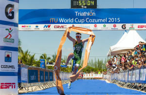 Cozumel ITU World Cup Triathlon   October 4, 2015  ©2015 Rich Cruse  ITU