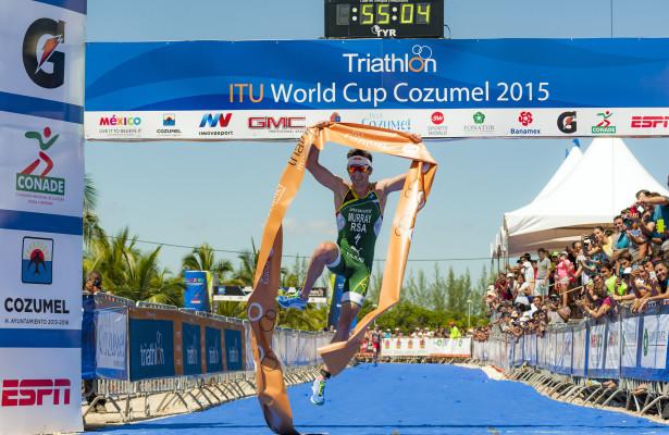 Cozumel ITU World Cup Triathlon   October 4, 2015  ©2015 Rich Cruse  ITU