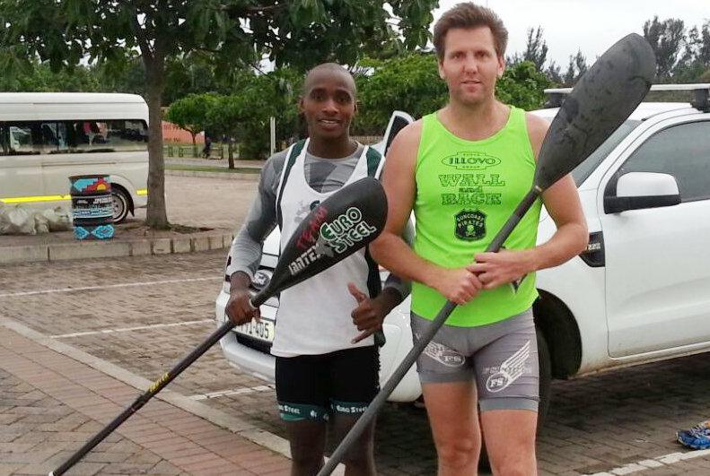 'Fisher King' teams ups with rising star Siseko at SA Champs