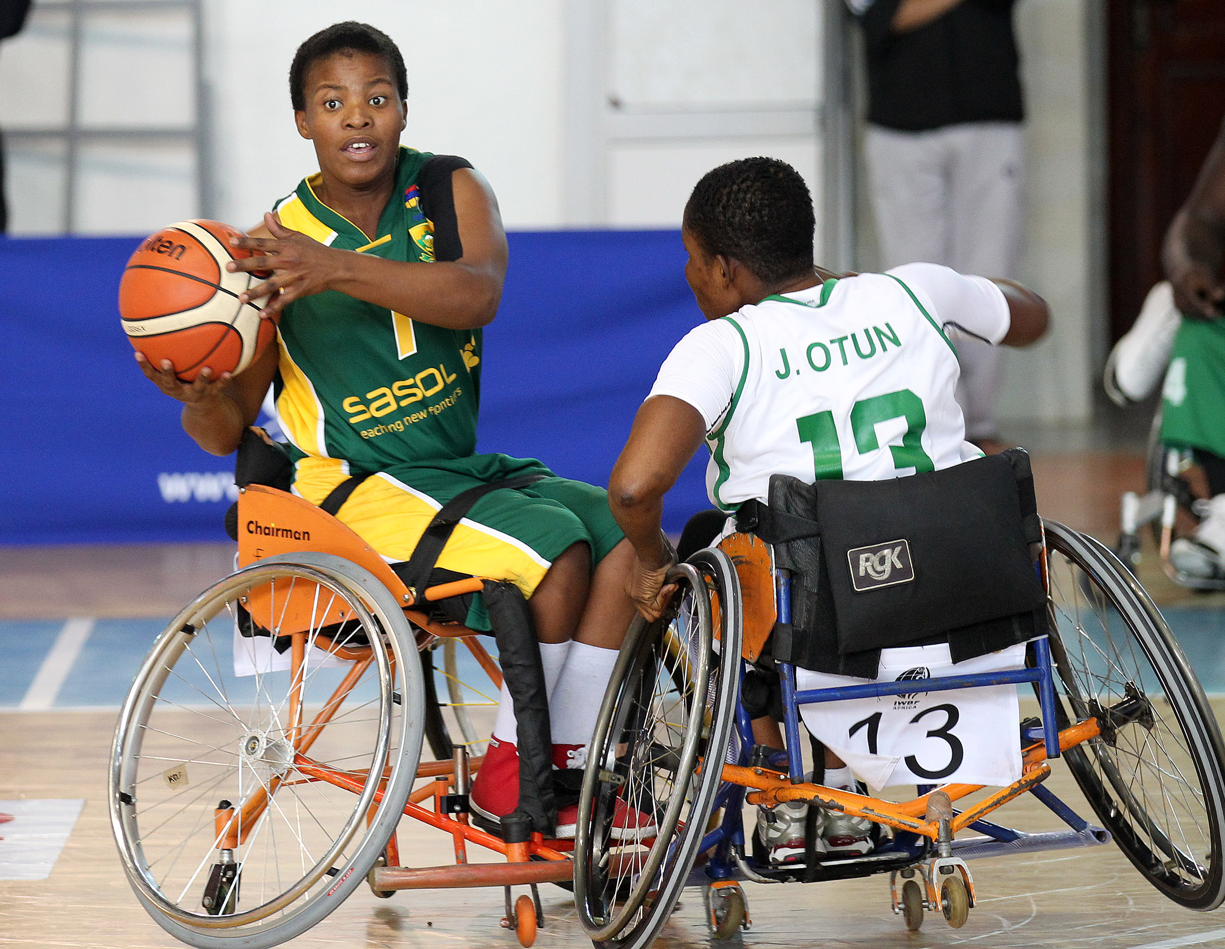 Wheelchair women roar into final after downing Nigeria