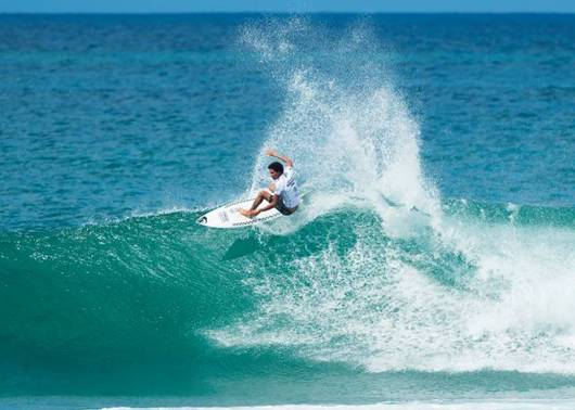 February through to next round in Hawaiian Pro