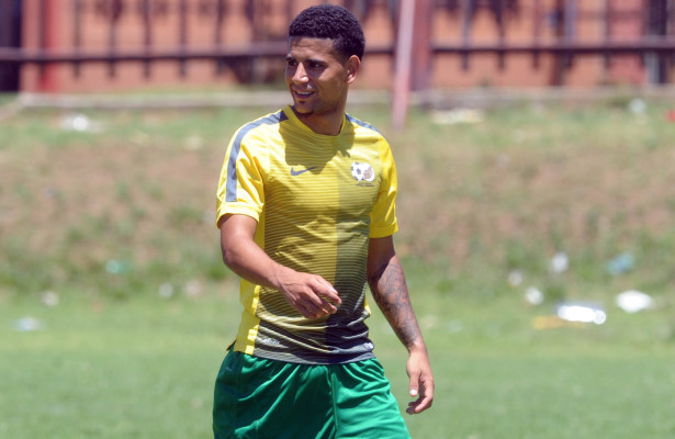 Keagan Dolly of South Africa U23  during the South Africa U23 Training on 24 November 2015 at Eldorado Park  Pic Sydney Mahlangu/ BackpagePix