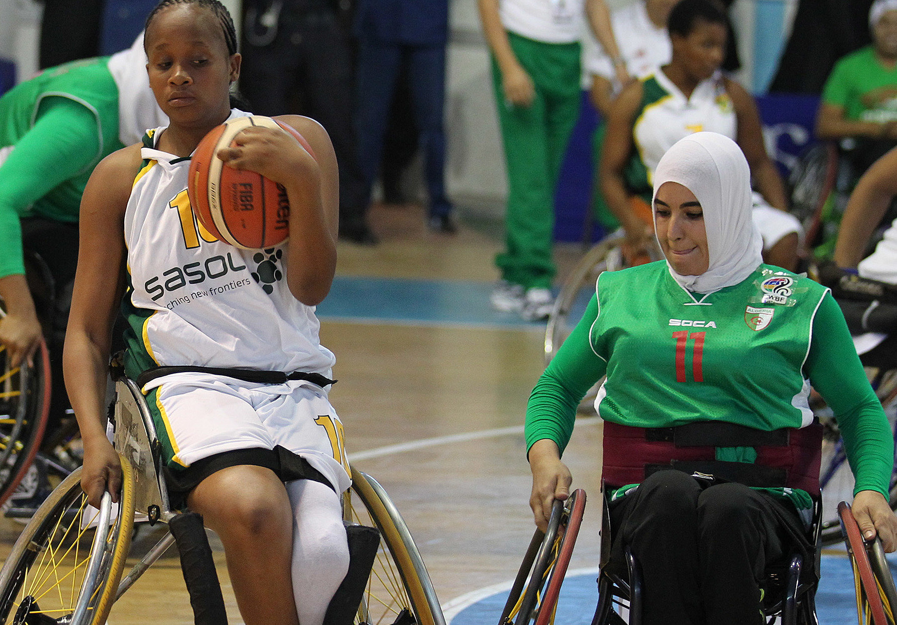 Amawheelagirls go down to Algeria in final