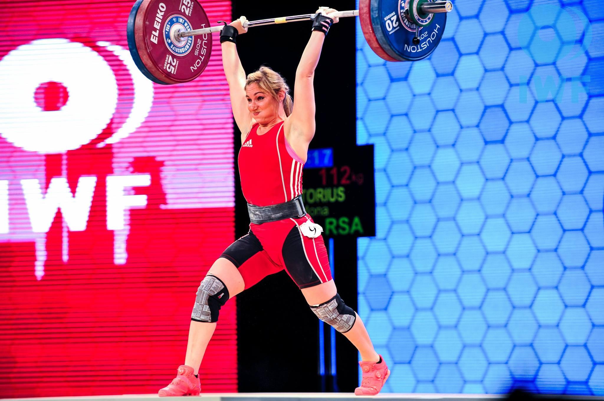 Pretorius pushes the limits at World Championships