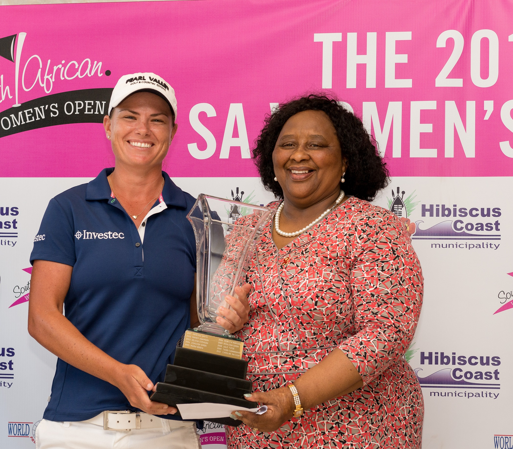 Pace races to successful SA Women's Open defence in KZN