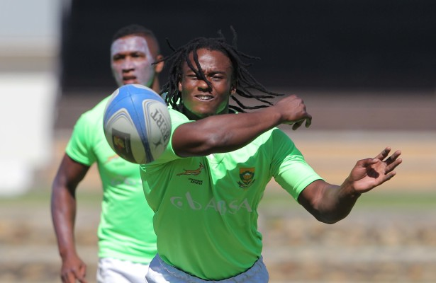 STELLENBOSCH. SOUTH AFRICA - JANUARY 13: Rosko Specman during the Springbok Sevens training session at the Stellenbosch Academy of Sport on January 13, 2014 in Stellenbosch, South Africa. (Photo by Carl Fourie/Gallo Images)