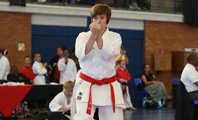 Karate ace Booyens boosted after Japan experience