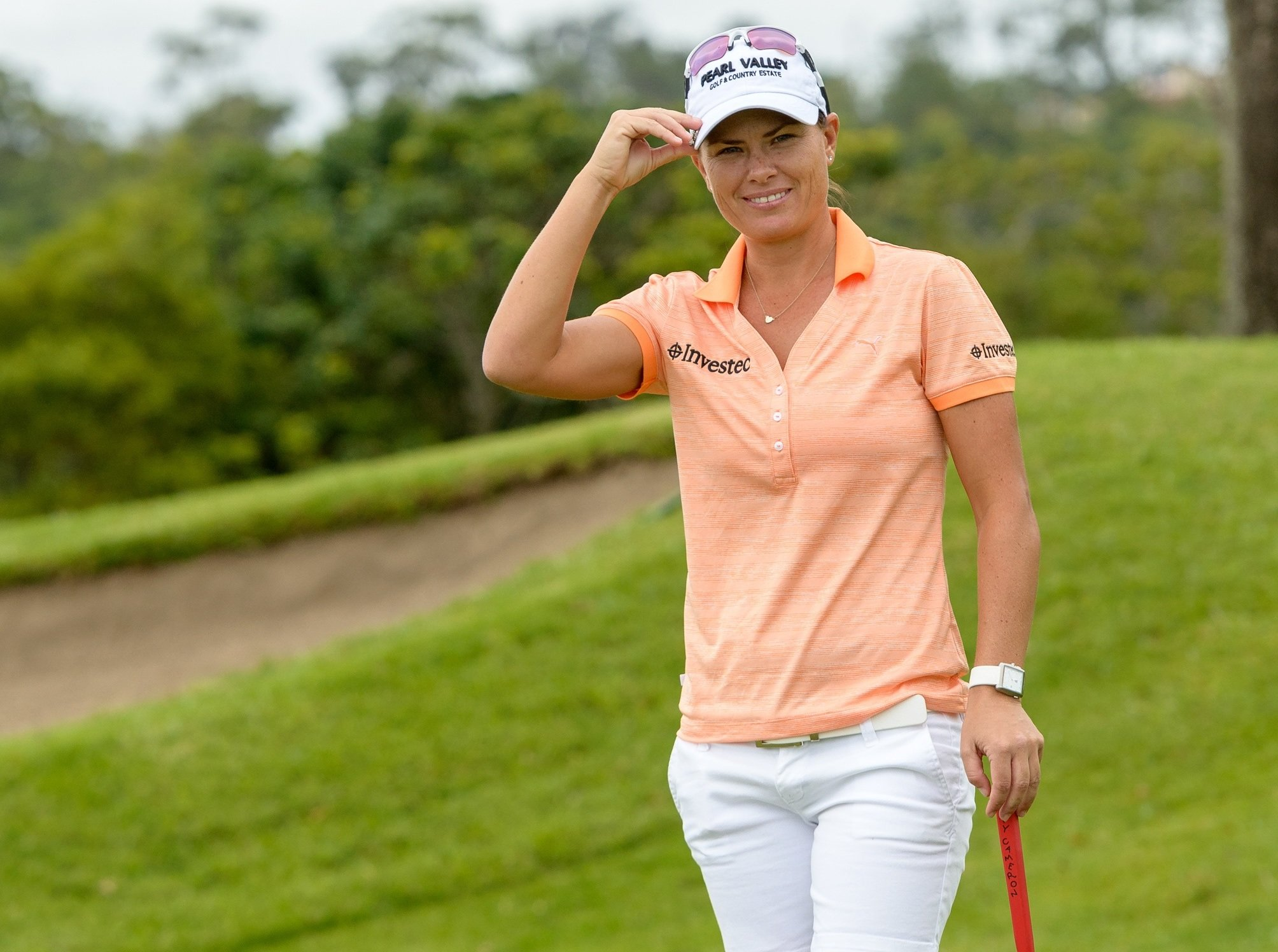 Pace pulls away at SA Women's Open