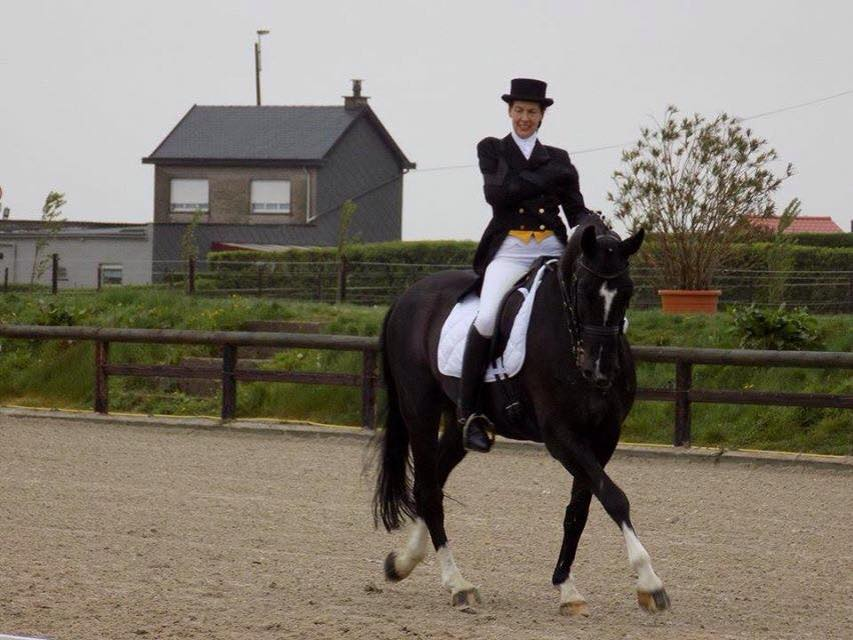 Verdi delivers a personal best dressage score for Johnson