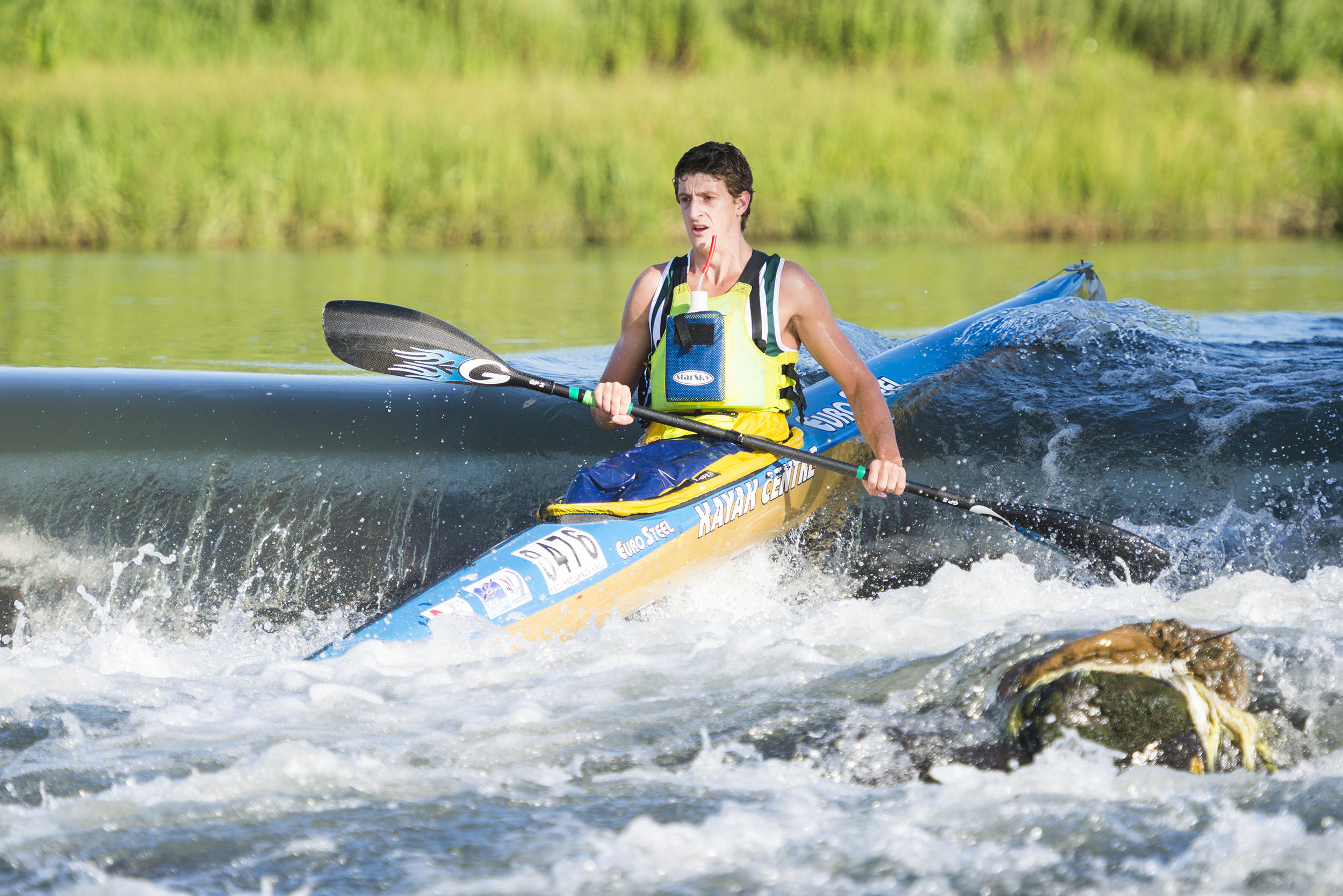 Kime happy as river levels climb ahead of Drak Challenge