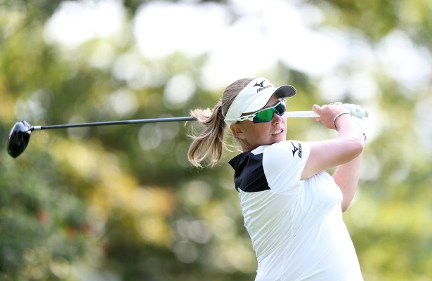 JOHANNESBURG, SOUTH AFRICA - JANUARY 19: Kim Williams during day 2 of the 2016 Joburg Ladies Open at Royal Johannesburg and Kensington Golf Course on January 19, 2016 in Johannesburg, South Africa. EDITOR'S NOTE: For free editorial use. Not available for sale. No commercial usage. (Photo by Carl Fourie/Sunshine Tour/Gallo Images)