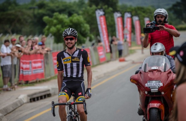 #4 Jacques Janse van Rensburg wins the Elite Mens title at the 2015 South African Road Cycling Championships in Mbombela (Nelspruit), Mpumalanga Province
